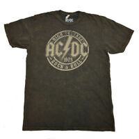 ACDC Mens Tee T Shirt S M L XL Rock Tour Band Metal Hard Vintage Music NEW