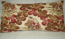 "Lumbar Kids Toile Decorative Accent Pillow Cover 11""x20"""