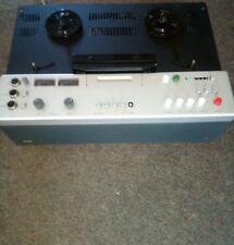 BRAUN TG1000/4 Vierspur Tonbandgerät Tonband Gerät siehe Bilder o. Haube