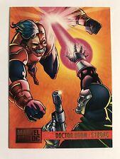 1995 DC Versus Marvel Skybox Trading Cards #93 Doctor Doom/Cyborg