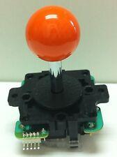 Japan Sanwa Joystick Orange Ball Top Arcade Parts JLF-TP-8Y-O