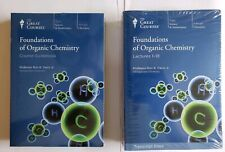 The Great Courses: Foundations of Organic Chemistry (NEW) with lectures books