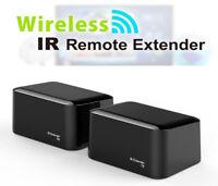 Wireless Remote Control IR Extender Repeater Transmitter Receiver Blaster Emitte