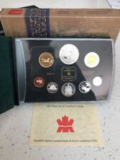 """2002 Canada. Special Edition Proof Set. """"Golden Jubilee"""""""