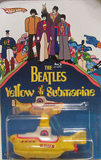 Hot Wheels A MEDIDA THE BEATLES YELLOW SUBMARINE Limitado Edición 1/25 Made