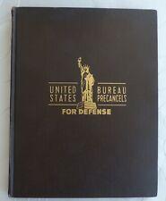 Bureau Precancel for defense 1939 -1945 Album voll Vorausentwertung