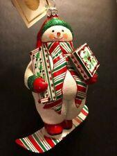 New ListingPatricia Breen 2019 Laax Snowman - Red & Green Stripes Retail $269 Restricted