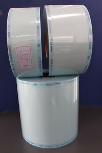 Heat Seal Sterilisation Rolls; Dental, Medi, Tattoo,BodyArt, Autoclave;200metres