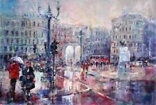 "NEW SERA KNIGHT ORIGINAL  """"London City - Facing Admiralty Arch""  PAINTING"