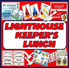 CD THE LIGHTHOUSE KEEPERS LUNCH STORY SACK TEACHING RESOURCES LITERACY READING
