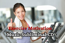 Love to Exercise and being Fit Subliminal Self Help CD Music Subliminal