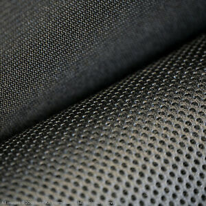 Auto-Kit Mesh Tech Fabric Spacer 3MM 1.5m Width Trainers Sports Equipment Black