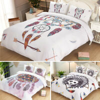 Modern Bedding Set Comfortor Duvet Quilt Cover Pillowcase Twin Queen King Size