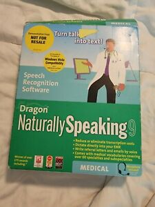 Used Software? Nuance Dragon Naturally Speaking Medical w/Key 2006