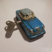 Voiture miniature jouet mécanique vintage GE 1960 made in WESTERN GERMANY N4649