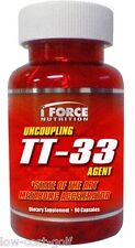 iForce TT-33 Metabolic Accelerator Fat Burner Ripped Cutting Weight Loss 90 caps