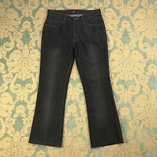 "Freego Womens Size 29 Blue Jeans Bootcut Dark Navy Denim Casual Pants 29"" Inseam"