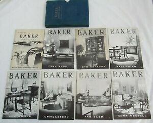 Baker Furniture Library 8  Booklets Mid Century Modern Finn Juhl