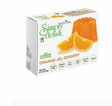12 x 20g SIMPLY DELISH Orange Jel Dessert