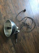 Antique Original Steampunk Zoalite Medical Light Industrial