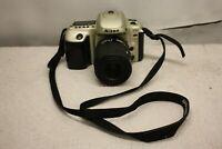 NIKON F50 35mm FILM SLR WITH AF NIKKOR 35-80mm f/4 1:4-5.6 D UNTESTED