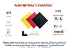 Kit Pulizia 3 Panni In Fibra di Carbonio cm 40x40