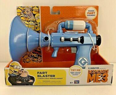 Despicable Me 3 FART BLASTER Minion Gadget Gun Sound  Lights NEW SEE VIDEO