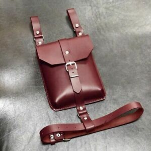 Leather Leg Harness Belt Bag Steampunk Phone Wallet Drop Thigh Fanny Pack Pouch