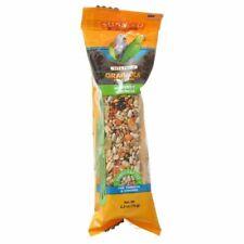 "LM Sunseed Grainola Parrot Treat Bar - Harvest Crunch 4"" Bar"