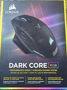 Corsair Dark Core CH-9315211-NA  RGB Wireless Gaming Mouse(No wireless Receiver)