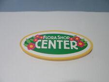 PLAYMOBIL – Panneau « flora shop center » / Sign, board / 4480 4484
