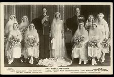Unposted Wedding Collectable Royalty Postcards