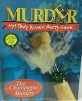 The Champagne Murders Dinner Party Murder Mystery Game with Tape - New & Sealed