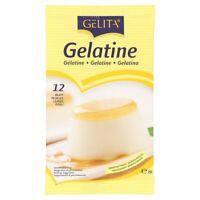 Lot de 12 Petites Feuilles De Gelatine Halal 20g