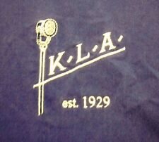KLA LABORATORIES radio transmission XL longsleeve 1929 button-down shirt Detroit