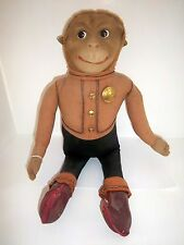 "Effanbee Vintage Rare American ""Button Monk"" Bellhop Monkey Ltd Edition 1920s"