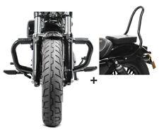 Barra antipánico + sissybar sr1 para Harley sportster 883 04-10