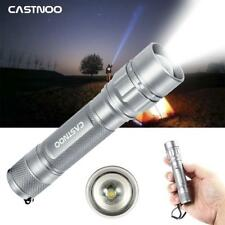Silver 3500 Lumen skywolfeye zoomable  LED 3 Modes Torch Lamp Light BR
