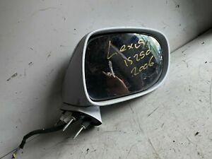 Lexus IS250 O/S Wing Mirror 2006 White