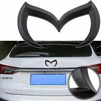3D Metal Black Evil 'M' Rear Trunk Tailgate Emblem Badge for Mazda3 Mazdaspeed3