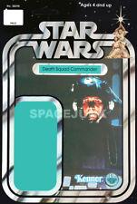STAR WARS Death Star (Death Squad) Commander (1977) Reproduction Kenner Cardback