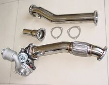 AUDI TT QUATTRO Mk1 STAINLESS 3PC DOWNPIPE DOWN PIPE EXHAUST 1999-2006