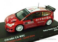 1/43 CITROEN C4 WRC LOEB 2008 RALLY MONTECARLO IXO ALTAYA DIECAST