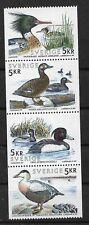 Sweden 1993 Birds complete set from booklet