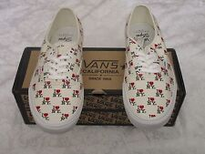 Vans Authentic CA I Heart Love New York NY White VN-0JWI9M6 Size 10.5 Sneakers