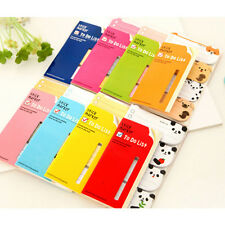 To Do List Sticker Paste Bookmark Marker Memo Flags Index Tab Sticky Notes PL