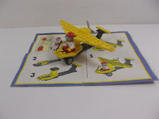 VINTAGE LEGO #1560 STUNT CLUB GLORY GLIDER SET COMPLETE INSTRUCTIONS KELLOGG'S