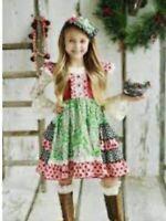 Mustard Pie VGUC  Girl's Boutique Ruffled Christmas Dress 4