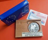5 EUROS 1998 PLATA GUARDIA REAL EJERCITO ESTUCHE CERTIFICADO FNMT 1 ONZA ESPAÑA