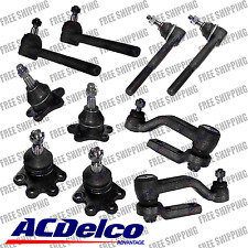 New Steering Kit Acedelco Tie Rods Bal Joints Idler Arm For Chevy Astro Van Awd
